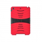 Protective Silicone Anti-drop Game Type Case for Ipad MINI - Red + Black