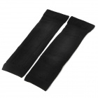 Elastic Leg Massager Band Support - Black (Pair)