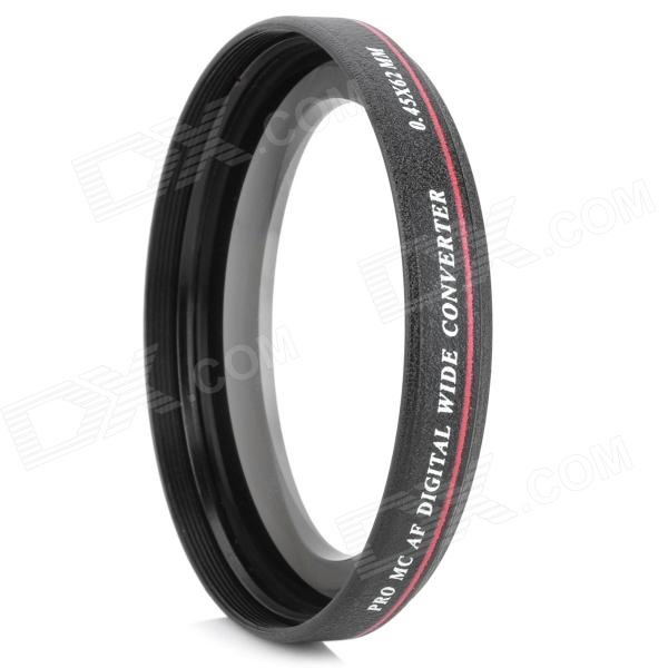 ZOMEI 62mm 0.45X Super Thin Wide Angle Lens for TAMRON 18-200mm - Black