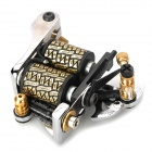 Design de Moda Tattoo Machine Gun Shader Liner - Prata + Preto