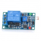 FC-18-L 12V Light-Operated Switch + Photosensitive Resistance and Relay Module - Blue