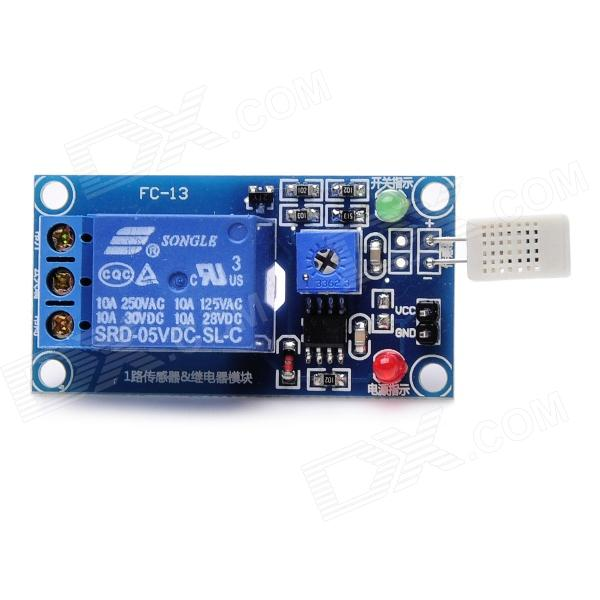 DIY Humidity Switch Controller Module - Blue edtcb23qef lcd displays