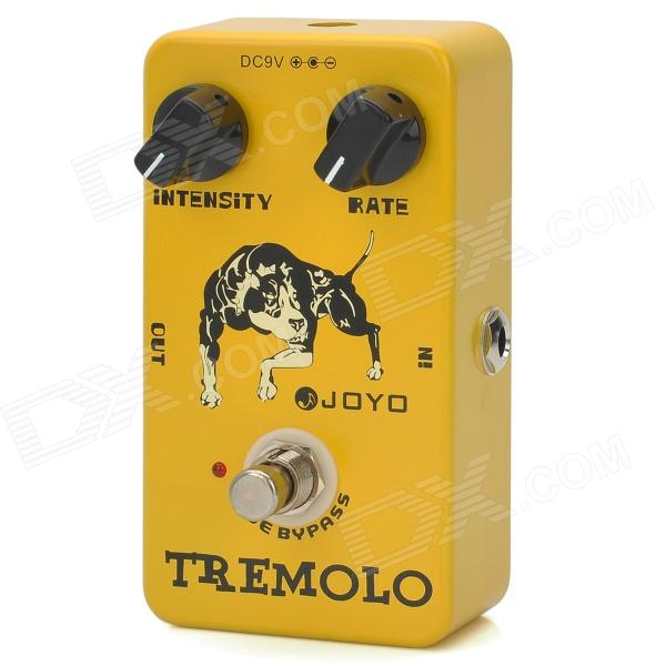 JOYO JF-09 True Bypass Design Tremolo Effect Guitar Pedal - Yellow