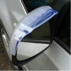 Universal Auto Car Rear View Mirror Rainproof Blade - Translucent Blue (2 PCS)