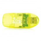 RSKING USB 2.0 480Mbps SD Card Reader - Yellow (Max 64GB)
