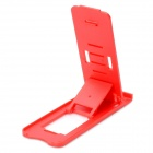 Portable Compact Foldable 5-Level Plastic Stand Holder Support for Iphone / Ipad - Red