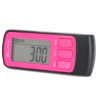 "ELAH NH-SM021-A Digital 1,4 ""Screen Laufzeit Step Counter - Pink + Black (1 x CR2032)"