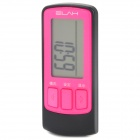 "ELAH NH-SM021-A Digital 1.4"" Screen Running Step Counter - Pink + Black (1 x CR2032)"