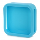 Silicone Protection Case Wall / Tray Mount for Apple TV 2 / 3 - Blue