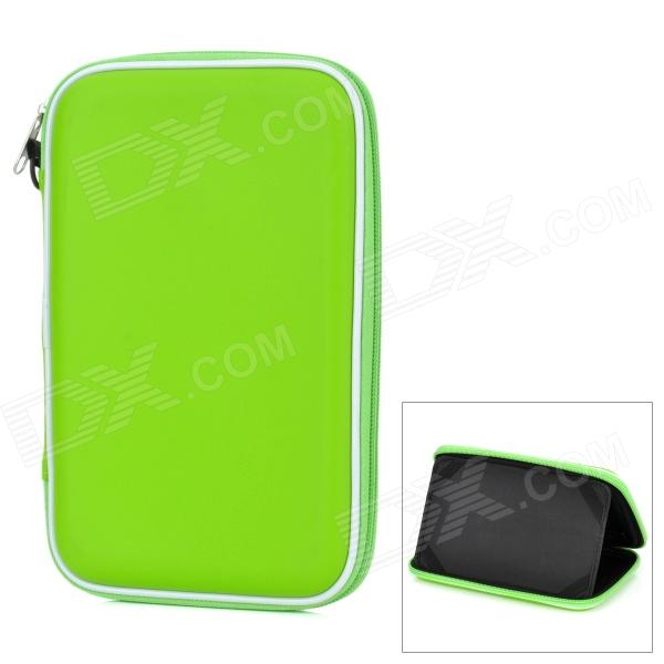 7 Tablet Sleeve Case w/ Speaker / Stand / Rechargeable 900mAh Battery - Green mechanic tablet stand bluetooth v4 0 speaker