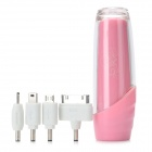 L 262 Portable External Emergency Power-Ladegerät für Handy / MP3 / MP4 / Bluetooth + Mehr - Pink