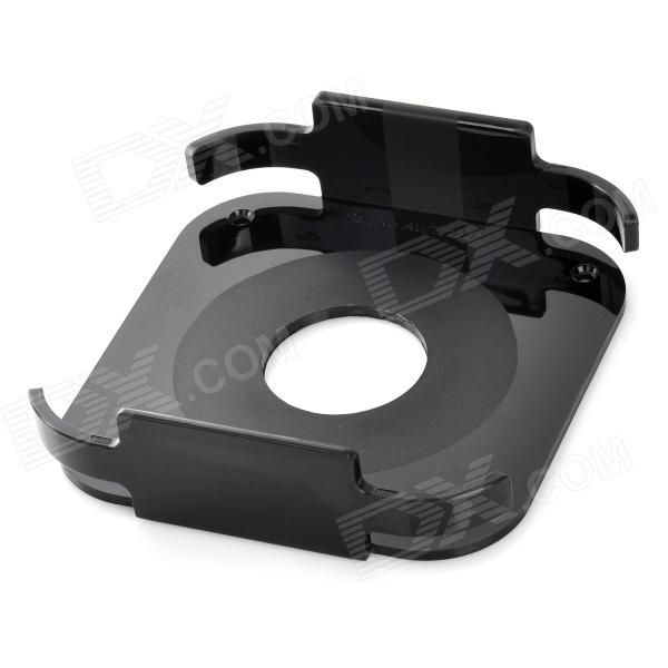 Silicone Protection Case Wall / Tray Mount for Apple TV 2 / 3 - Black