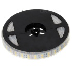 Double-Side 144W 8000LM 3500K Warm White 600 * Tira de luz LED (5m / 12V)