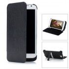 Rechargeable 4000mAh External Battery Pack w/ Stand Holder for Samsung Galaxy Note II N7100 - Black