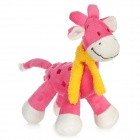 Cute Giraffe Style Doll Toy - Pink + White