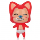 Cute Ali Style Plastic Doll Toy w/ Suction Cup - Red