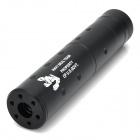 "6"" Durable Steel Suppressor Silencer for Airsoft - Black"