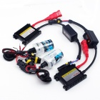 H3 35W 3200lm 6000K Car HID Lamp w/ Ballast - Black (12V / 2 PCS)