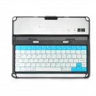 K80 Bluetooth v3.0 78-Key Wireless Keyboard for Ipad + More - Black
