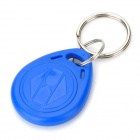 Completely Reusable 125KHz Programmable/Writable RFID Keychain - Blue