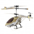 SH-6023-1 Rechargeable 3.5-CH IR Remote Control R/C Helicopter w/ Gyro - Green Beige