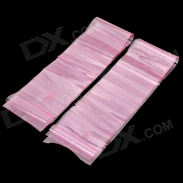 Environmental Resin Abdomen Leg Keep Fit Bands - Pink (2 PCS)
