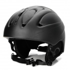 MOON MS-86 Outdoor Ski Helmet - Black