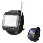 SP-WTV01 Multi-Functional 1.8&quot; TFT Wrist Watch TV Player w/ FM - Black