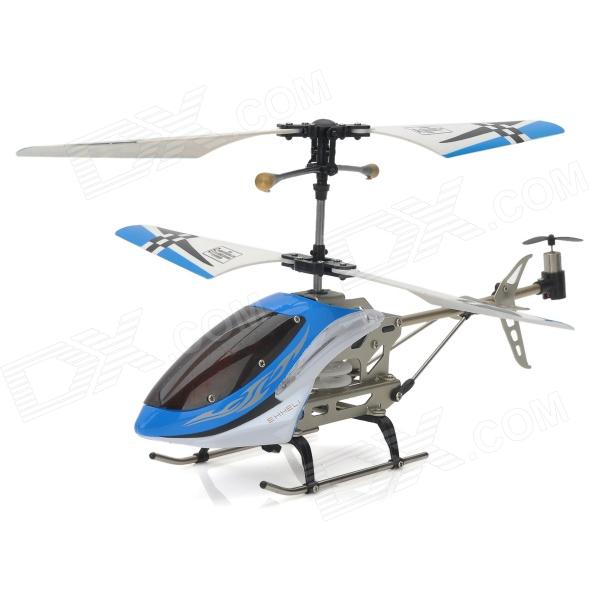 SH-6026-1 Rechargeable 3.5-CH IR Remote Controlled R/C Helicopter w/ Gyro - Blue