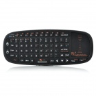 RT-MWK 2.4GHz Wireless 71-Key Keyboard w/ Touch Pad Mouse - Black