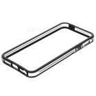 Ultra-Thin Protective Silicone Bumper Frame for IPHONE 5 - Black