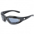 CARSHIRO AQ045 Sports Bike Riding UV400 Protection Resin Lens Polarized Sunglasses - Black
