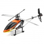ZR-Z101 Rechargeable 4-CH 40.68MHz Radio Controlled Single Propeller R/C Helicopter w/ Gyro - Orange