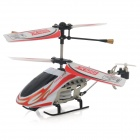 SH-6025-1 Rechargeable 3.5-CH IR Remote Control R/C Helicopter w/ Gyro - Red + White