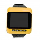 SP-WTV01 Multi-Functional 1.8&quot; TFT Wrist Watch TV Player w/ FM - Orange + Black
