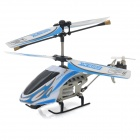 SH-6025-1 Rechargeable 3.5-CH IR Remote Control R/C Helicopter with Gyro - Blue