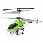 ZR-Z007 Rechargeable 3-CH IR Remote Control R/C Helicopter w/ Gyro / Flash LED Light - Green