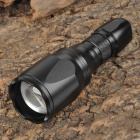 UltraFire Cree XM-L T6 680lm 5-Mode White Zooming Flashlight - Black (1 x 18650)