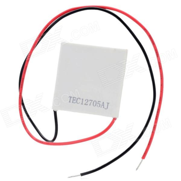TEC12705AJ Thermoelectric Cooler Cooling Plate - White dia 400mm 900w 120v 3m ntc 100k round tank silicone heater huge 3d printer build plate heated bed electric heating plate element