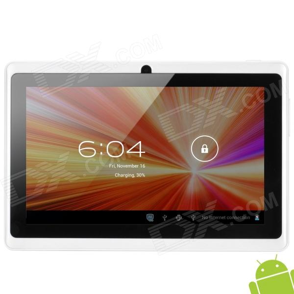"Q8 7"" Capacitive Screen Android 4.0 Tablet PC w/ TF / Wi-Fi / Camera / G-Sensor - White"