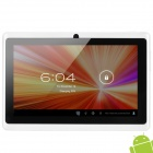 "Q8 7 ""kapazitiven Bildschirm Android 4.0 Tablet PC w / TF / Wi-Fi / Kamera / G-Sensor - White"
