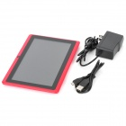 "Q8 7"" Capacitive Screen Android 4.0 Tablet PC w/ TF / Wi-Fi / Camera / G-Sensor - Red"