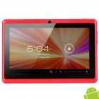 "Q8 7 ""kapazitiven Bildschirm Android 4.0 Tablet PC w / TF / Wi-Fi / Kamera / G-Sensor - Red"