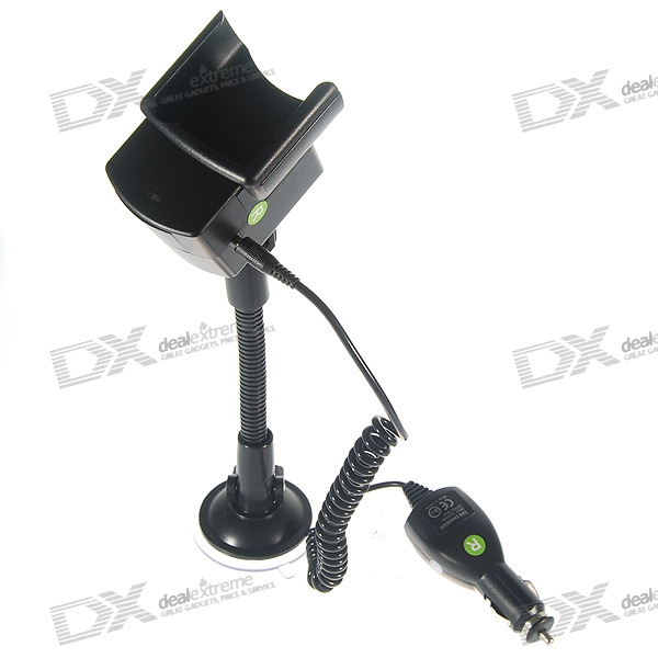 Windshield Mount Holder + 1000mA Car Charger for Nokia N95 8GB