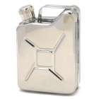 HONEST 633H Outdoor Portable Stainless Steel Liquor Flask - Silver (5oz)