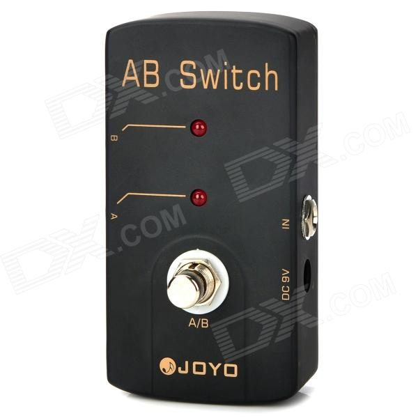 Joyo JF-30 True Bypass Design AB Switch Drive Guitar Effect Pedal - Black 40pcs in row dupont cable 20cm 2 54mm 1pin 1p 1p female to male jumper wire for