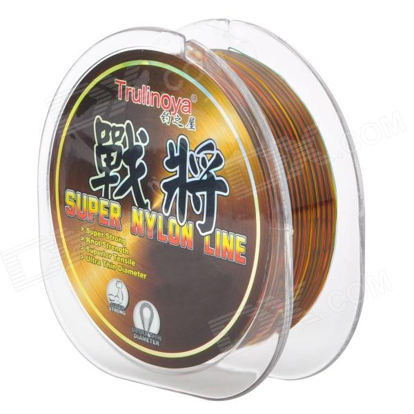 Trulinoya 100M Abrasion Resistance Nylon Fishing Line / Thread - Multicolored