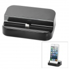 SY-iPhone5-8071 Sync and Charging Docking Station w/ USB to Micro USB Cable for iPhone 5 - Black