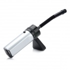 Pro'skit MS-C001 Mini Vacuum Cleaner - Black + Silver (4 x AA)