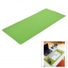 DIY Multi-Function Felt Table Mat + 3 Storage Baskets for Home / Office - Green